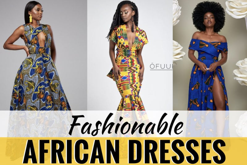 45+ Fashionable African Dresses to Rock in 2019