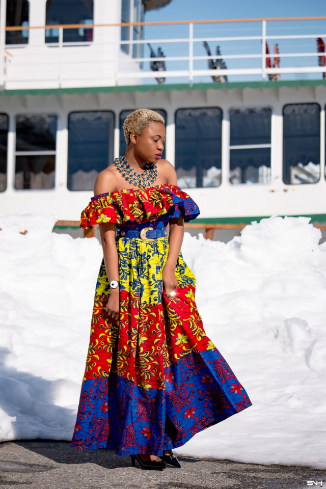Stylish African Print Dress | & Where to Find Affordable