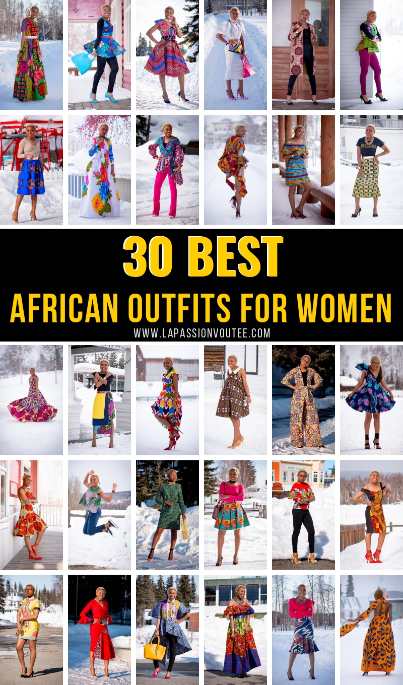 8d9c9da940 30 Days of The Best African Outfits for Women. African print fashion with  this series