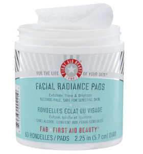 FIRST AID BEAUTY Facial Radiance Pads | Wondering what to get from the Sephora Beauty Insider Appreciation Event 2018? I've got you covered. These are the best top-rated picks guaranteed to get your money's worth.