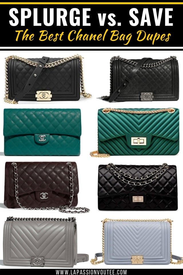 a0616741ab Shopping for some Chanel bag dupes? This is your ultimate guide to shopping  the most