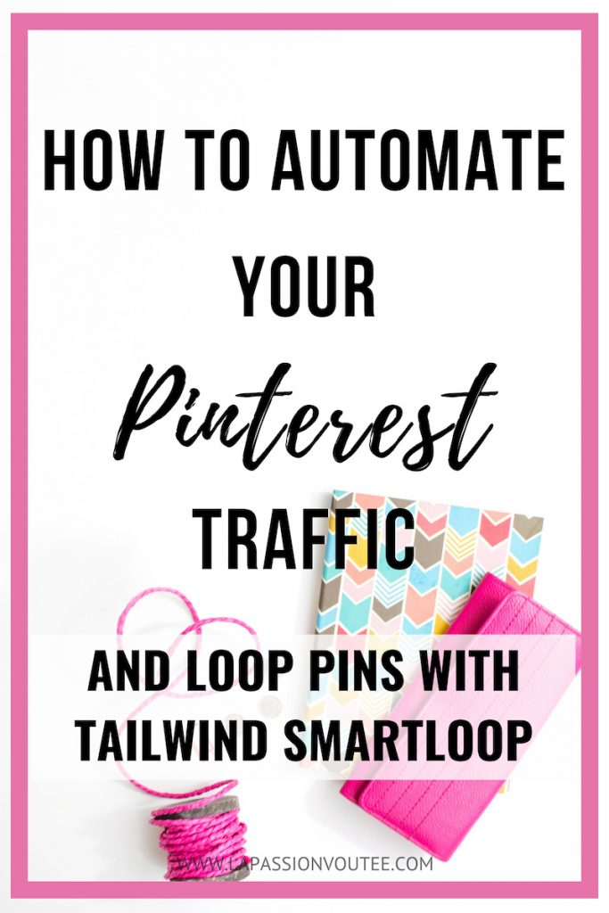 Discover the FASTEST way to automate and repurpose your content by looping your Pins with Tailwind SmartLoop to skyrocket your site traffic.