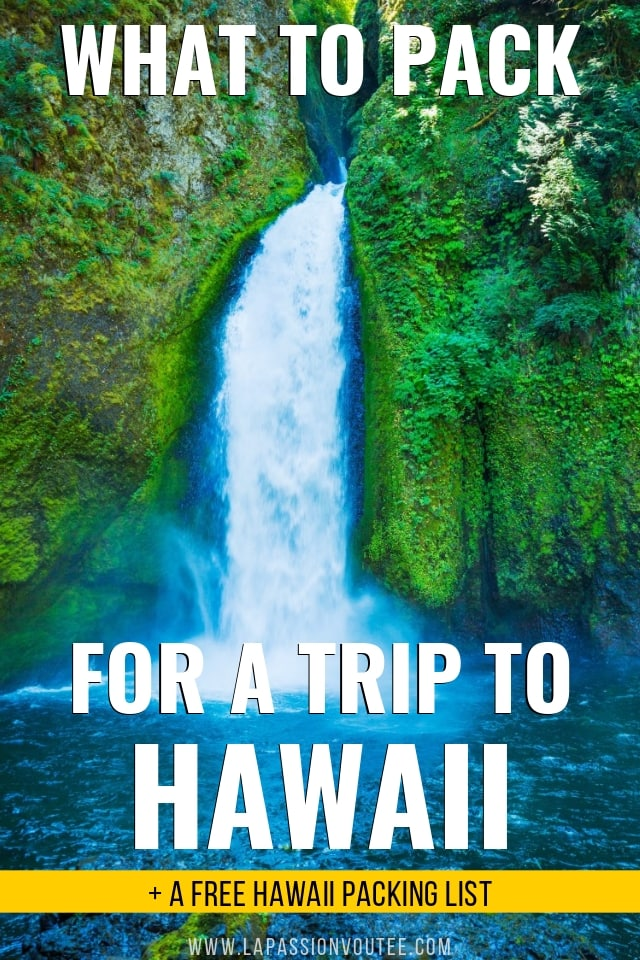 Wondering about what to pack for a trip to Hawaii? Be prepared! This free comprehensive Hawaii packing list includes everything you need and then some so you can have the BEST vacation ever imagined. Oh, don't forget these essential items...