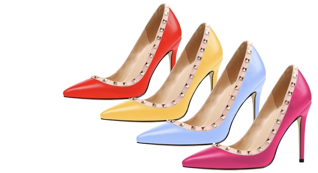 Valentino Rockstud Pointed Pump designer dupes
