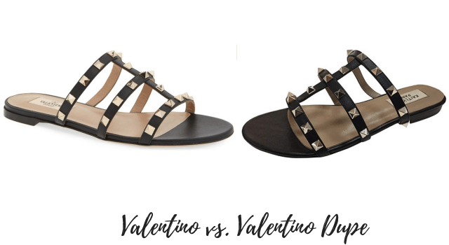 Looking for the BEST Valentino Rockstud dupes? This post features a roundup of the best Valentino dupes that look like the real deal.