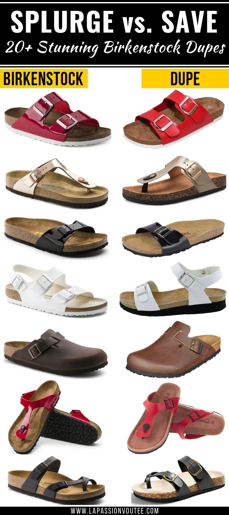 25+ Birkenstock look alikes and dupes that are way more affordable with the same quality and functionality as the original sandals. You're going to love these amazing alternatives to Birkenstock, you'll be back for more dupes! This post is all about the best designer dupes, Birkenstock Look Alike Sandals, Birkenstock Outfit, Knock Off Birkenstocks, best Birkenstock knock-off.