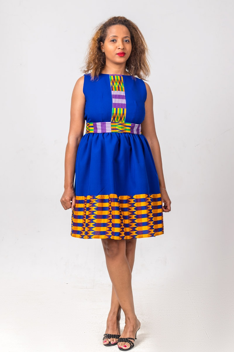 804e1f740b A roundup of the best African print dresses to add to your wardrobe this  year.