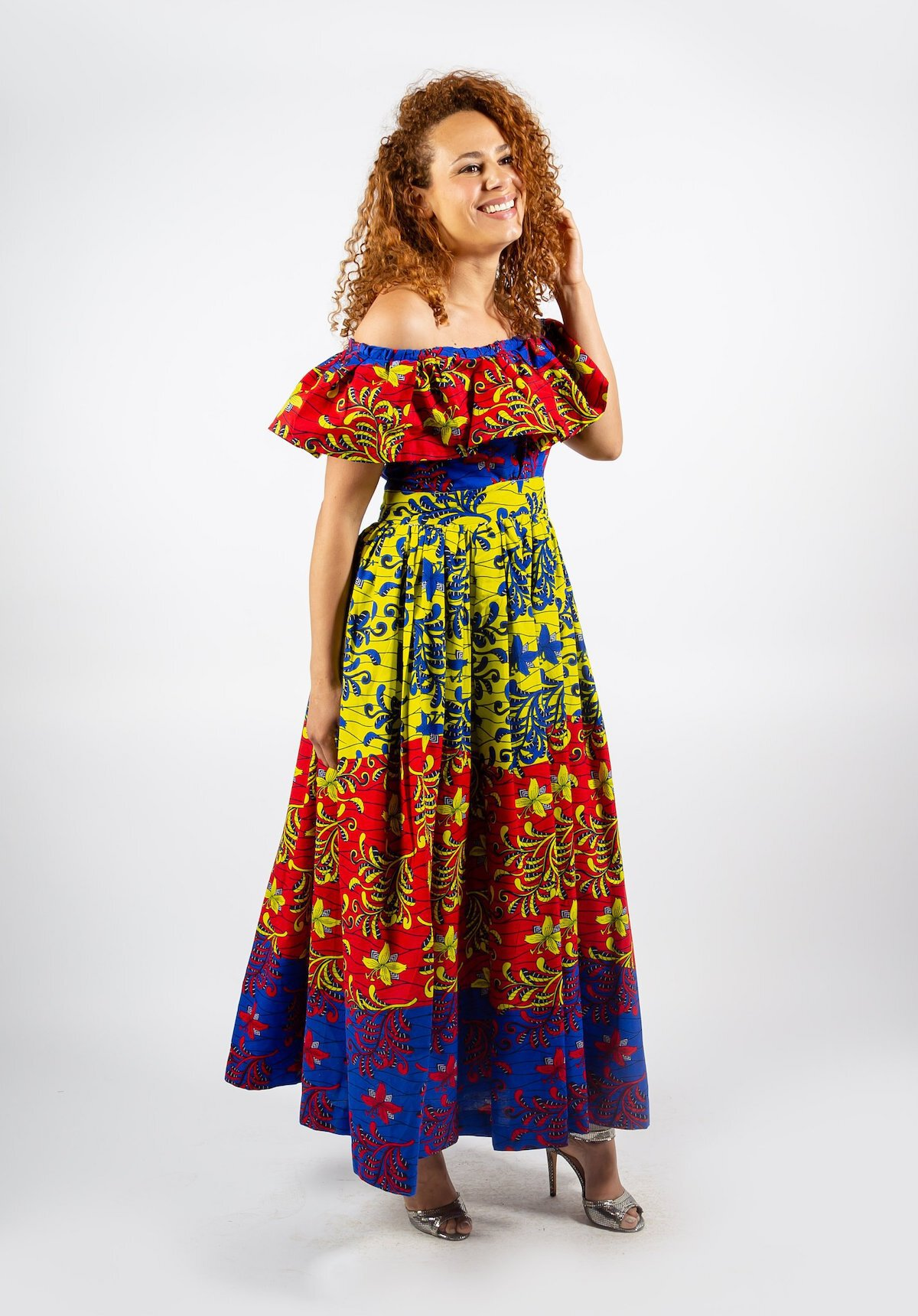 7e6c3c5132cca A roundup of the best African print dresses to add to your wardrobe this  year.