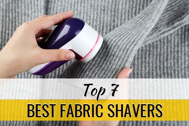 Need to know the best fabric shavers? This list might surprise you! From battery-operated defuzzers to corded, power lint removers.