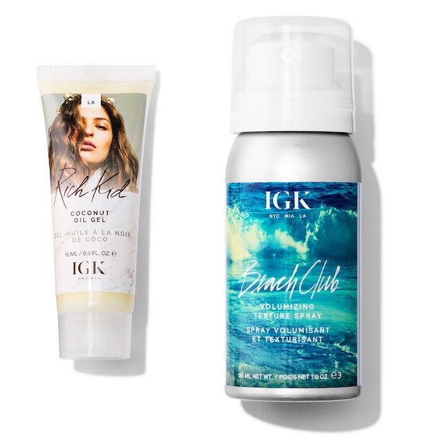 Sephora June birthday gift IGK Hair styling duo
