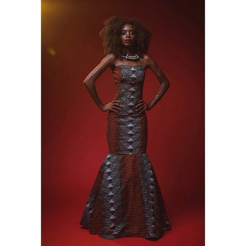 Matt African Dress by House of Izzi