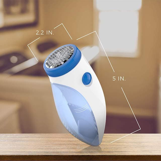 Remington Fuzz-Away Fabric Shaver is perhaps the smallest shaver on the market