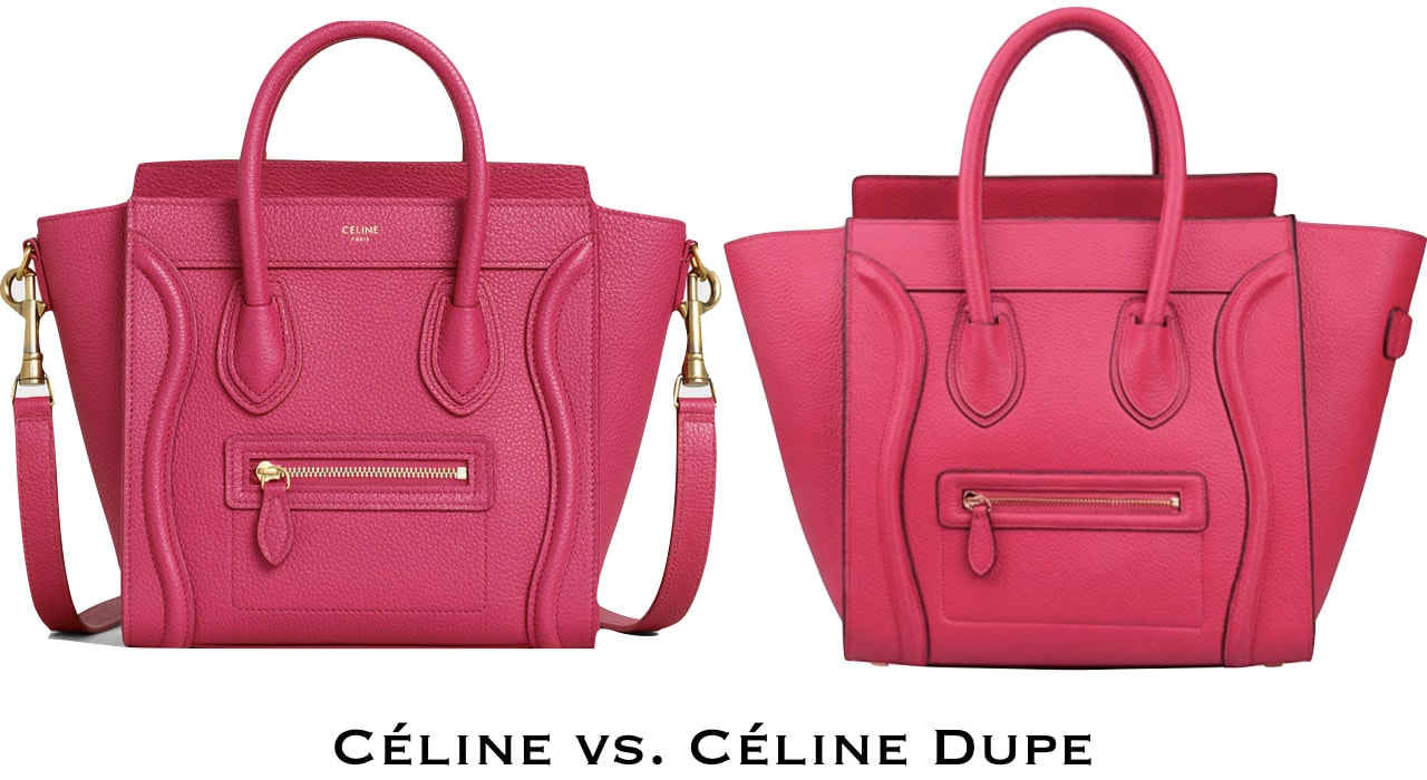 The Celine Luggage tote is one of the hottest Celine handbag of all time. But if you can't afford the hefty price tag this designer dupe might just be what you're looking for.