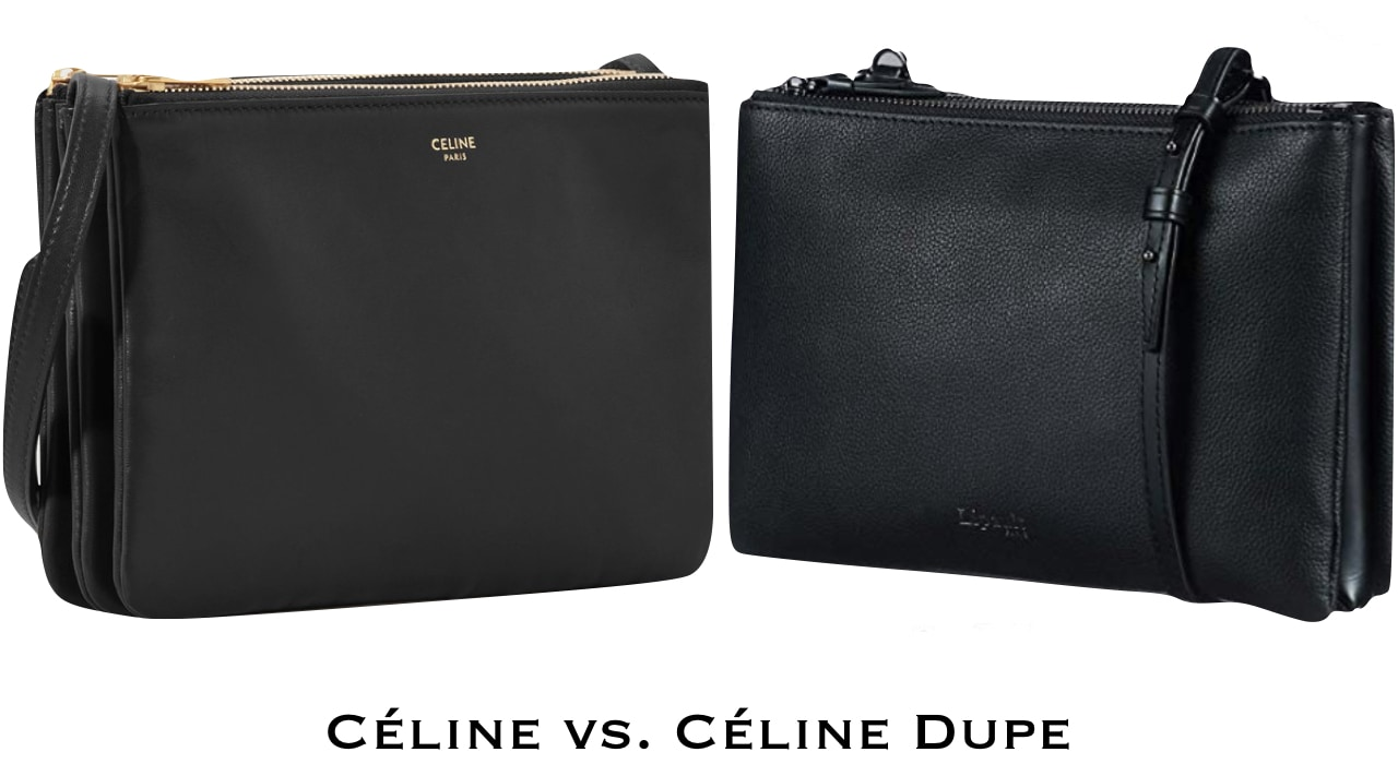 A simple and functional designer dupe. Meet the inexpensive version of the Celine Trio handbag!
