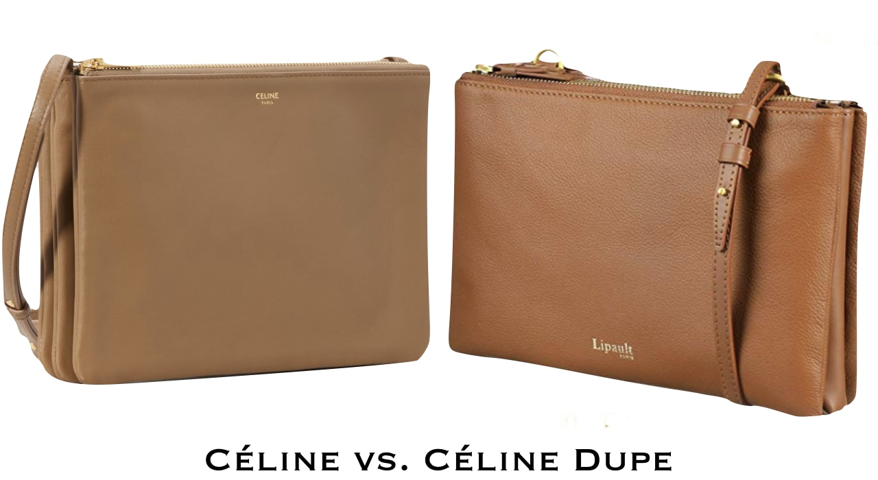 I love this designer inspired bag with three distinct zippered pockets. Although not a new discovery, Celine has taken this minimalist purse to new levels.