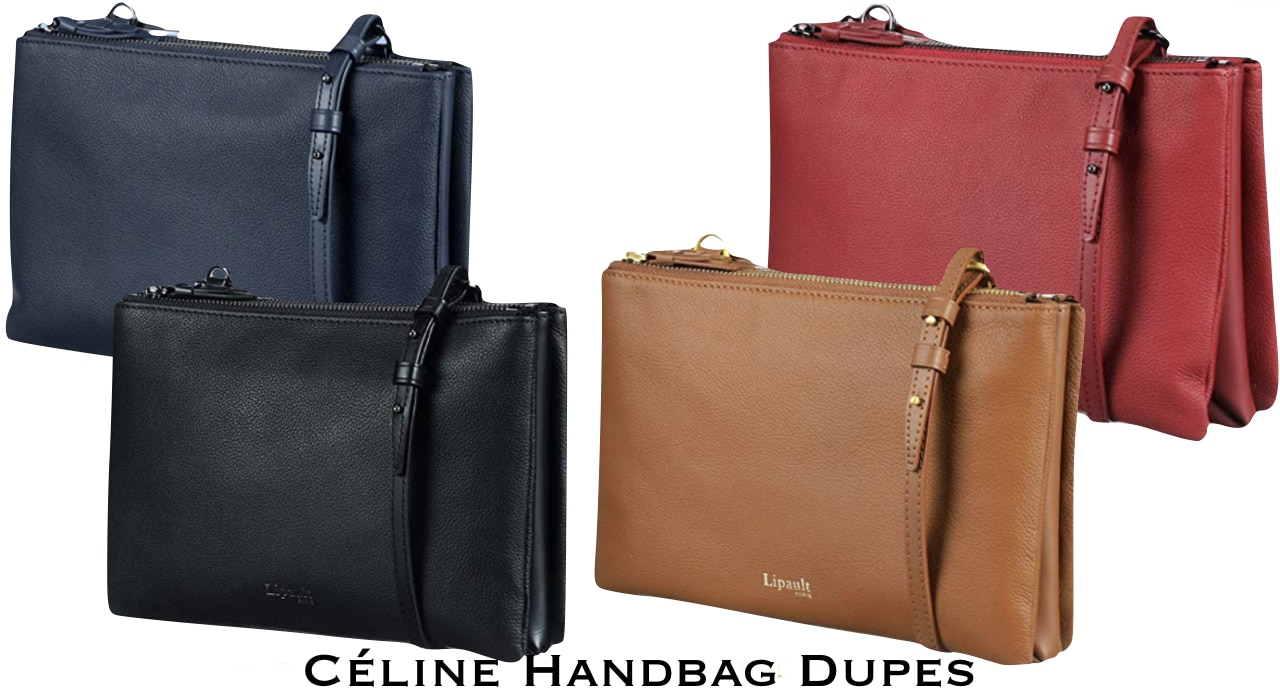 The ultimate shopper's guide to the best Celine Trio bag dupes.