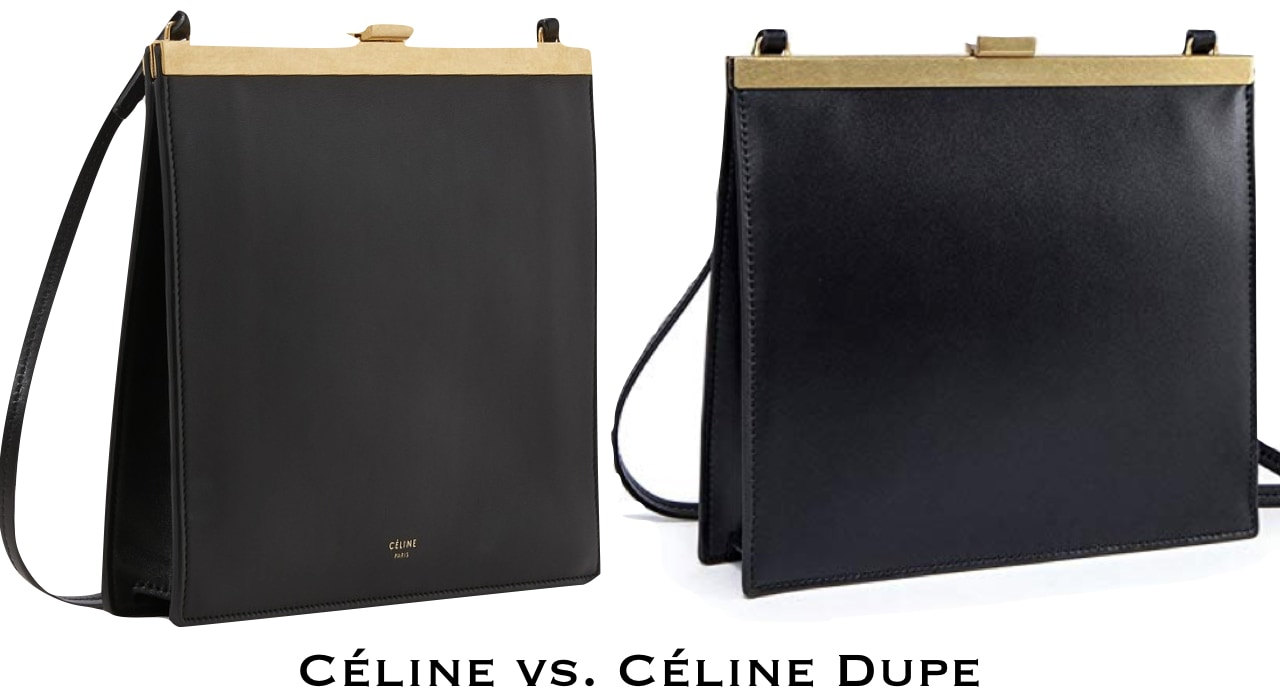 Absolutely crushing on the 2017 Celine mini clasp bag. But if you don't want the luxury price, you'd love this look-alike dupe.