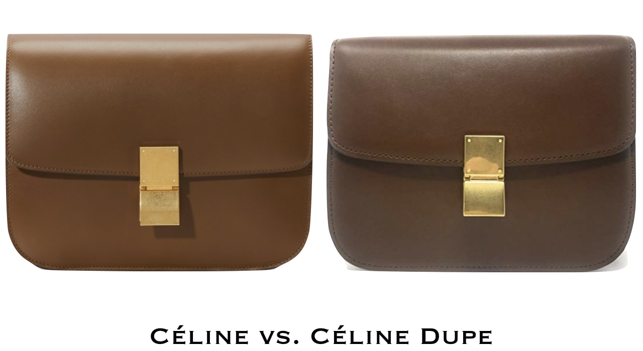 Celine Box Bag Dupe in tan