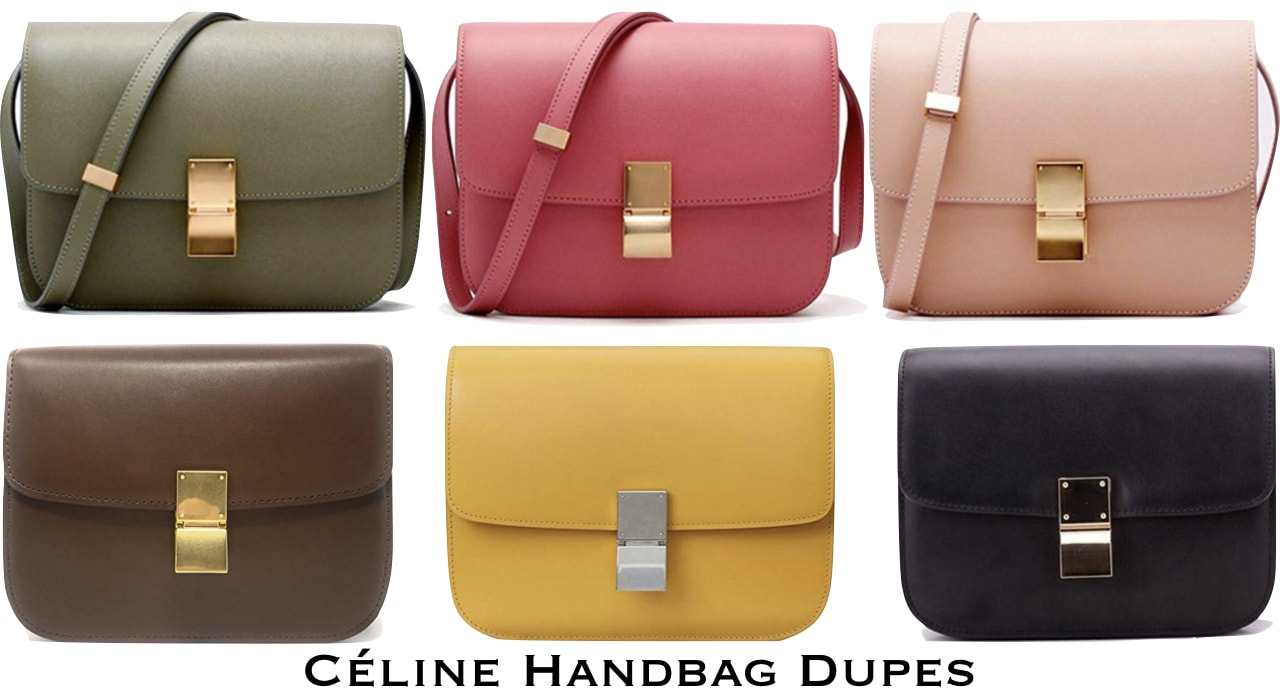 A roundup of the best-rated Celine Box Bag Dupes
