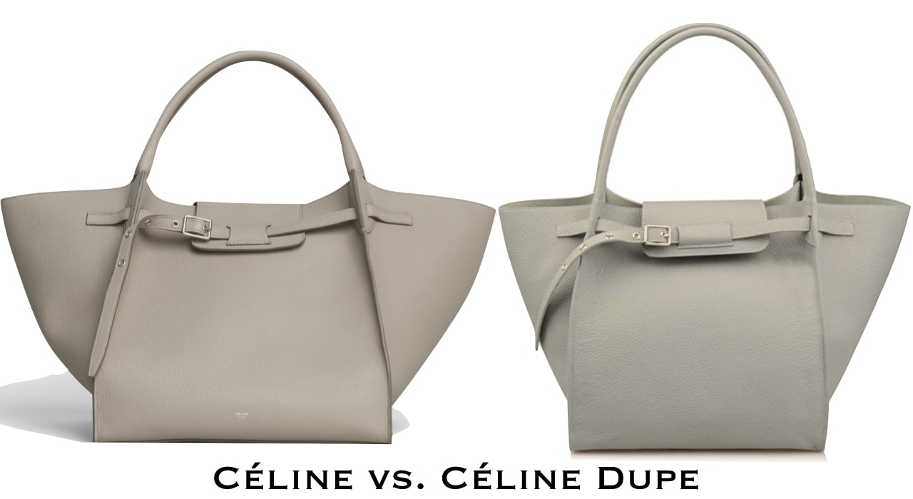 Celine Big Bag purse dupe
