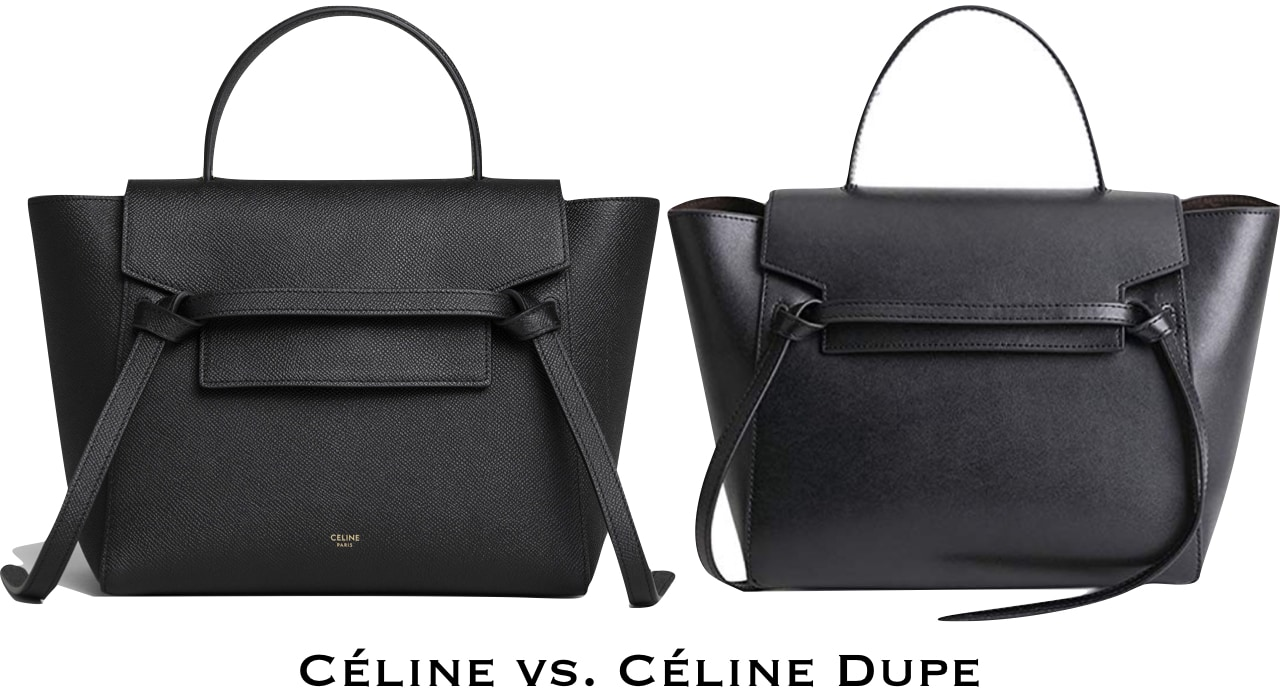 A roundup of the best Celine belt bag dupes