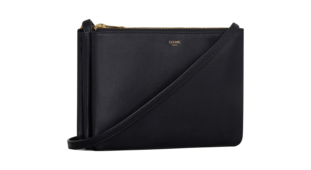 Celine Trio Bag in Black