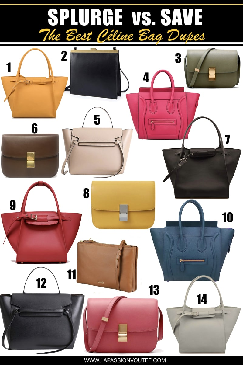 Best-selling Celine Purse look alikes