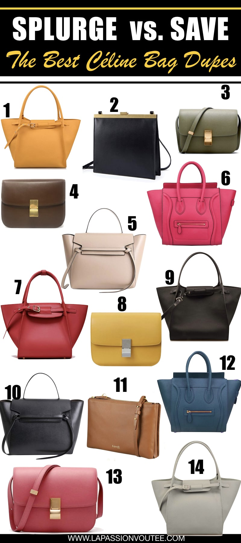 These are the best Celine handbag dupes