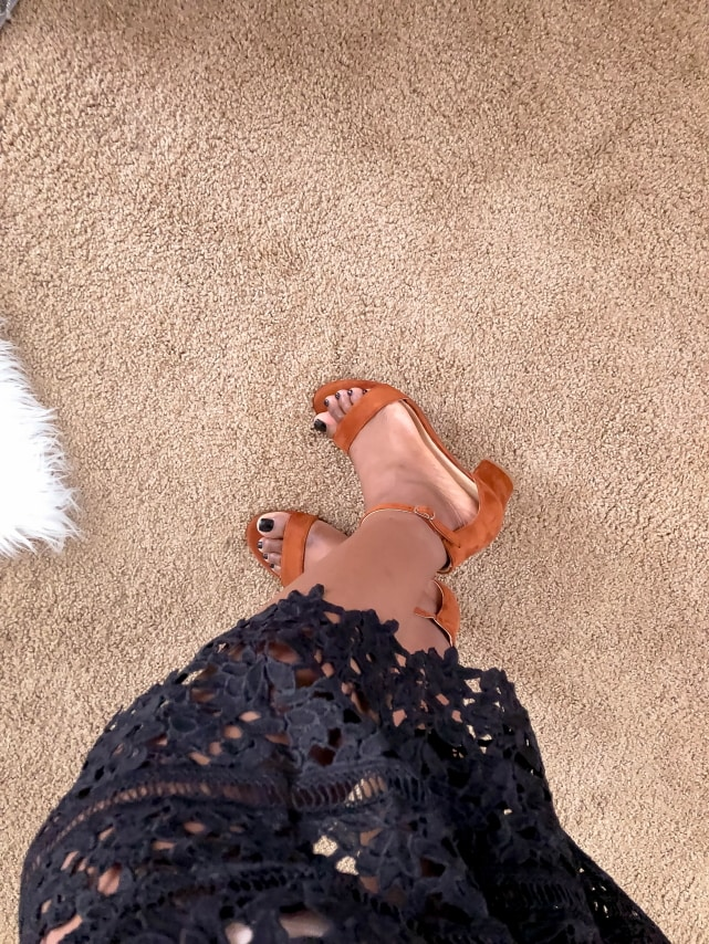 Amazon Haul - Ankle Strap Sandals with Block Heels