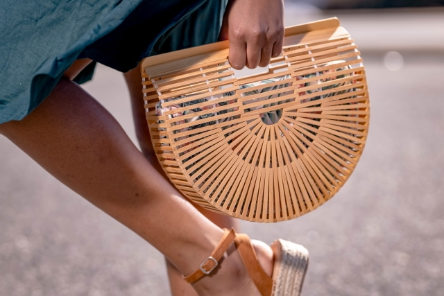Amazon Clothing Haul - Handmade Bamboo Handbag with Purse Insert