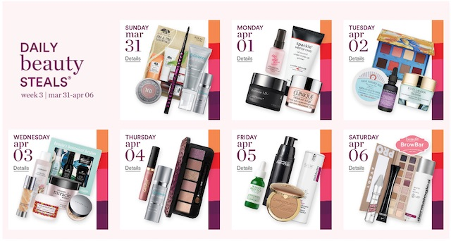 Ulta 21 Days of Beauty Sale 2019 Calendar | These are the most wanted beauty steals and hottest buys everyone is talking about!