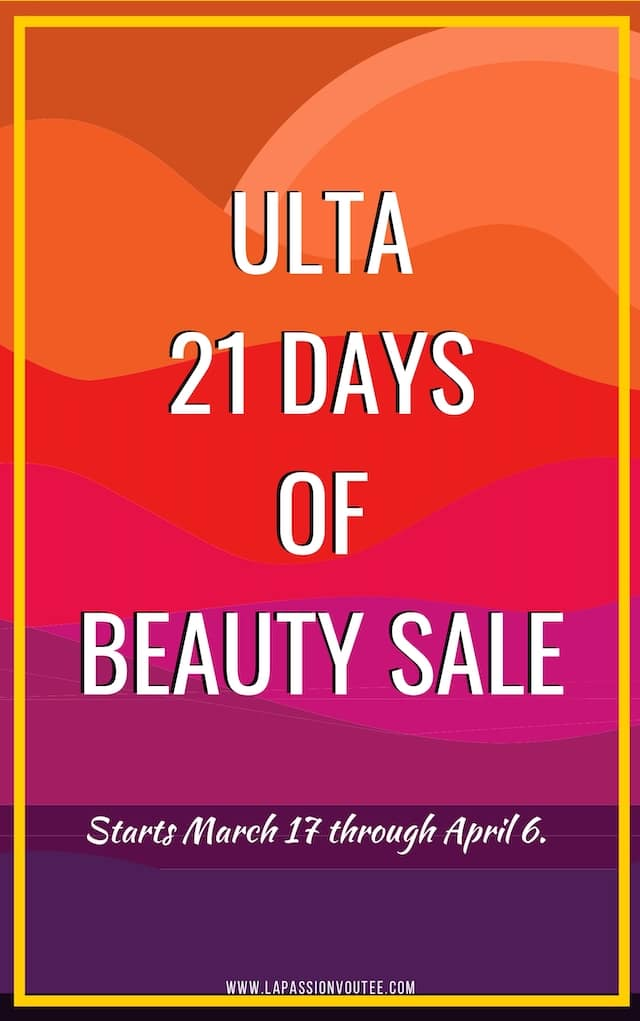 A roundup of the epic selection of products available in the Ulta 21 Days of Beauty Sale 2019! Discover what to stock up on, try or skip from the best Ulta Beauty Steals yet!