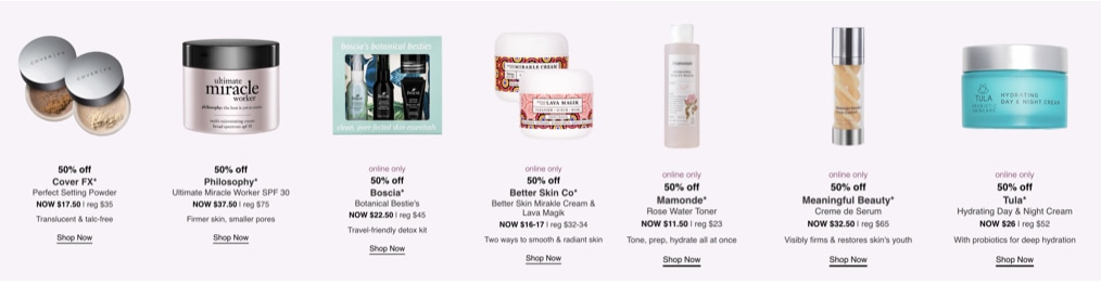 Ulta Spring Beauty Sale