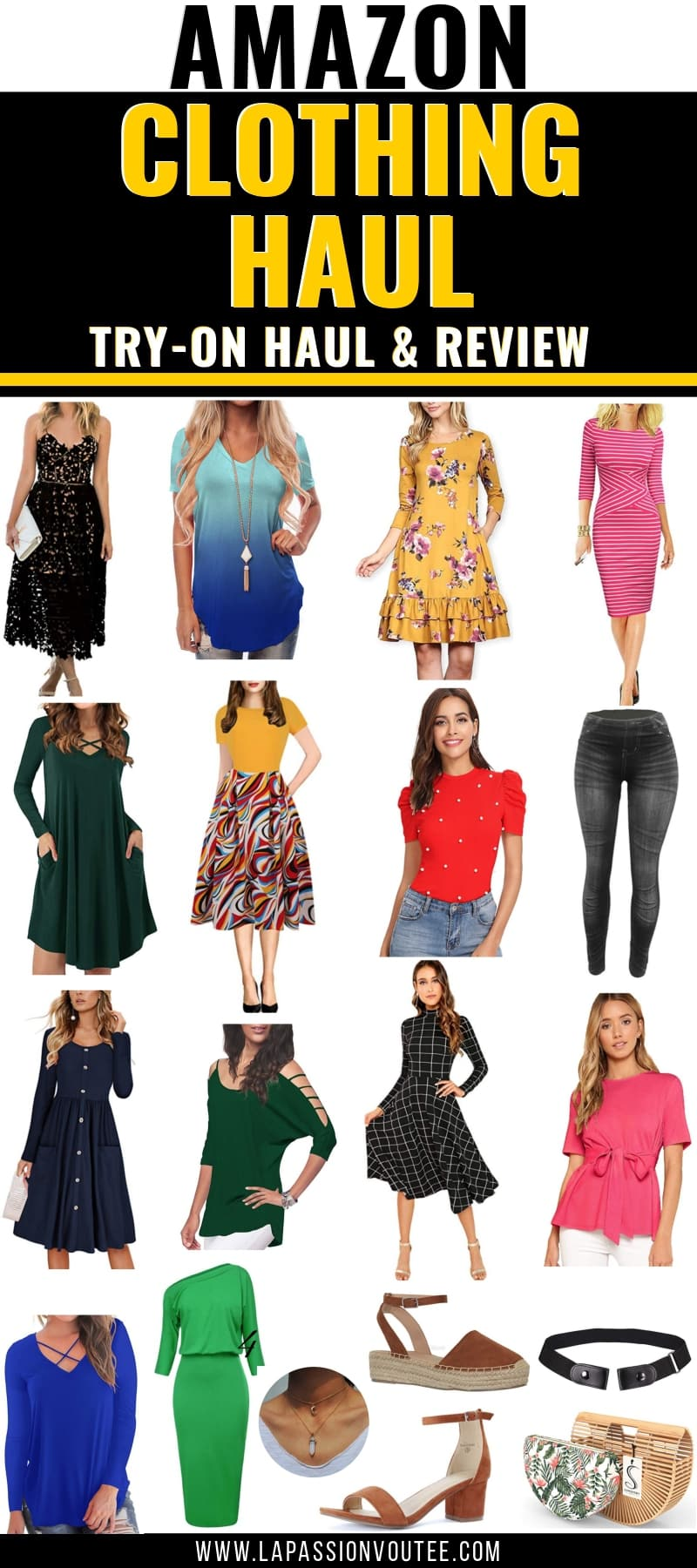 Is it worth your time and money shopping for clothes on Amazon? Discover the best items to buy from Amazon in this epic fashion haul post plus tips on how to save money shopping on Amazon.