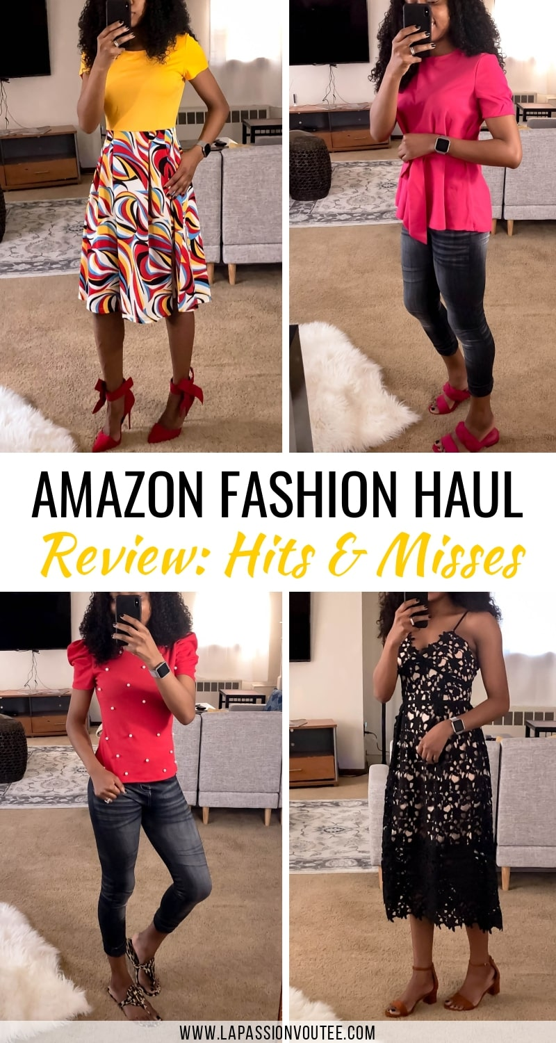 This epic Amazon clothing haul with try-on photos is for you. Read this Amazon fashion haul FIRST to discover what to buy, skip and how to save money while shopping on Amazon.
