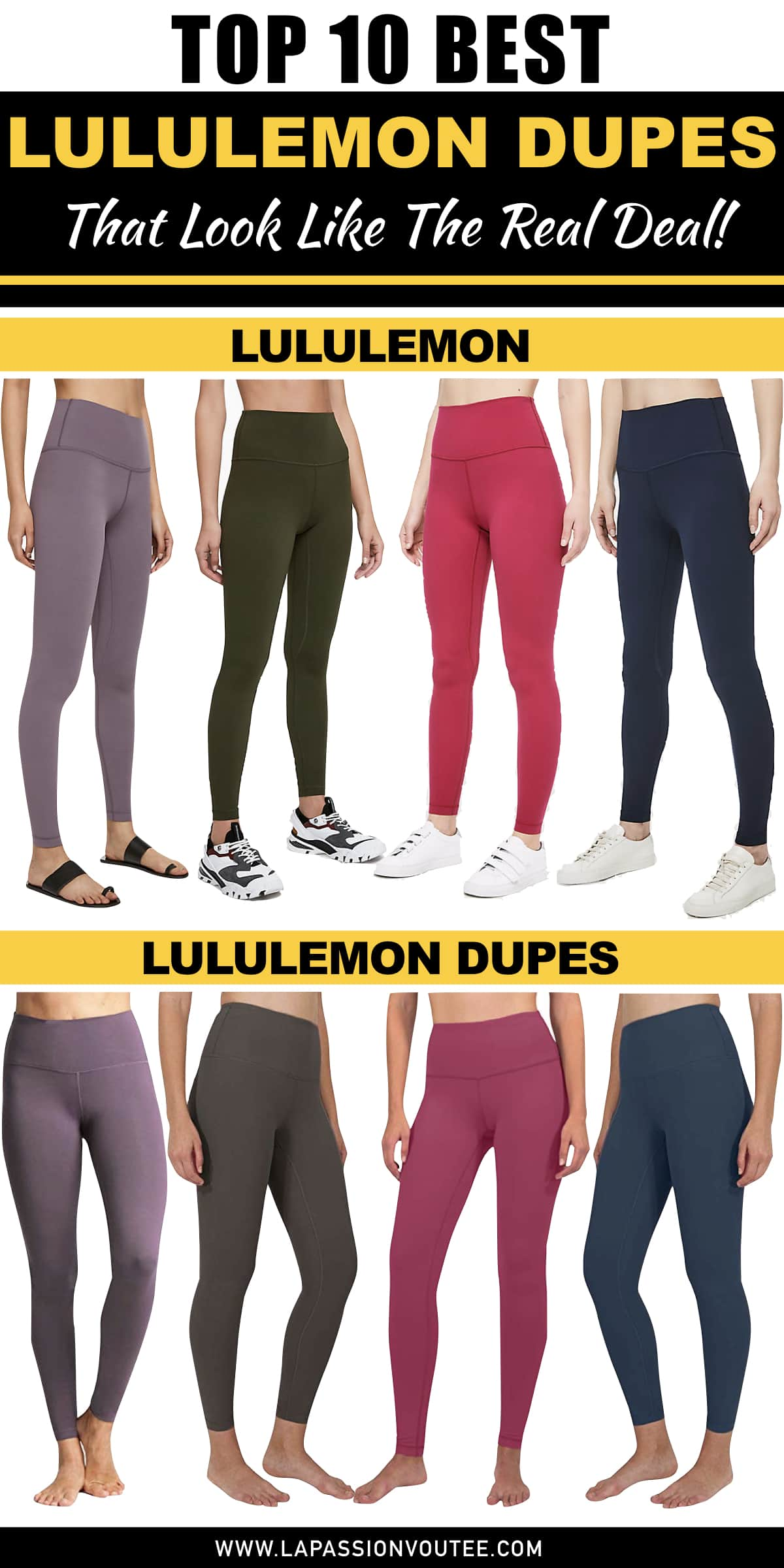 27349e531b After much research (and shopping), these are the best of the best Lululemon