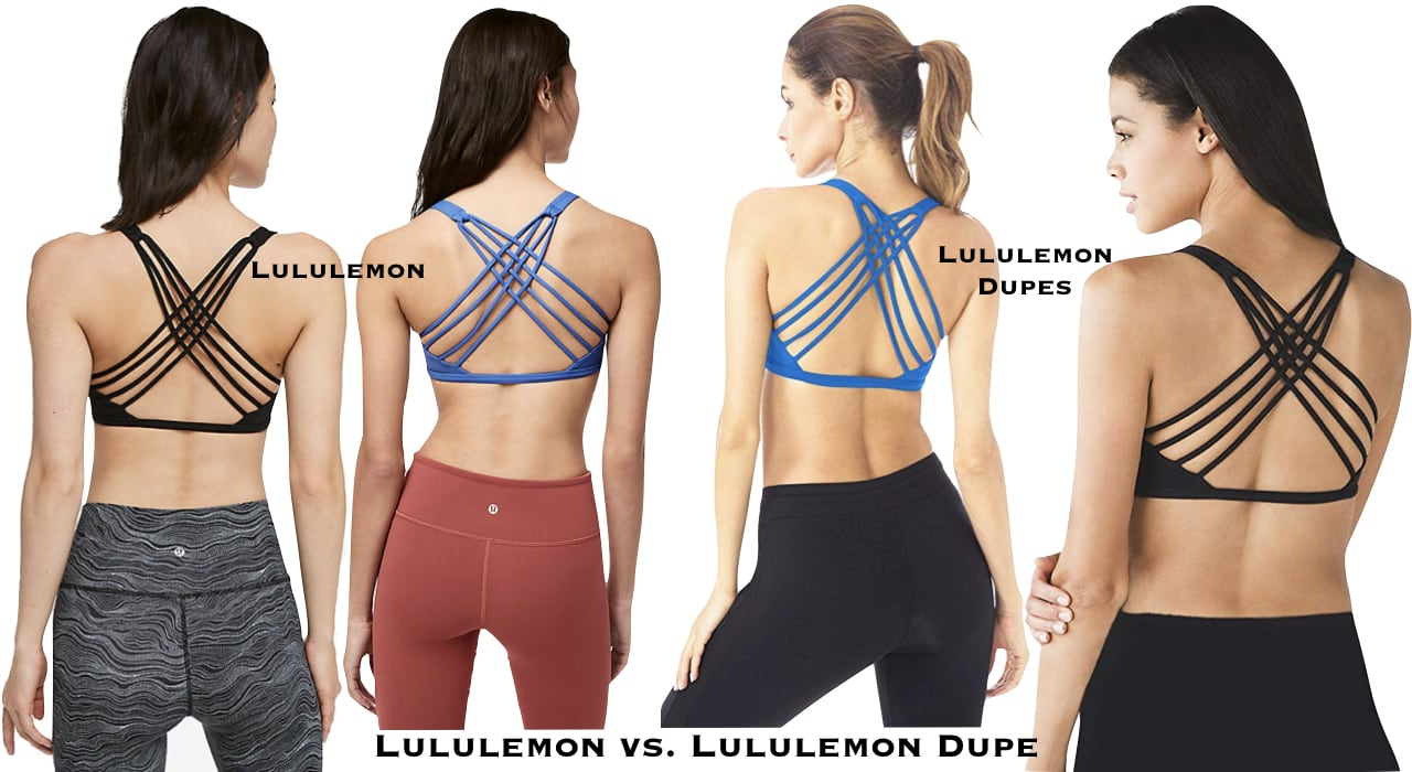 Can't say no to a great designer dupe. Read this post FIRST for the best selection of Lululemon dupes. These are so good, they look like the real deal. #lululemon #dupes