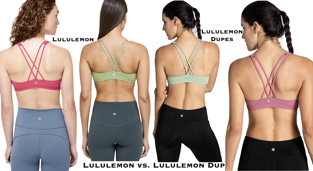 After much research (and shopping), these are the best of the best Lululemon dupes ever including dupes for the Align leggings, Wunder Under yoga pants, To Be Free bra and many more. #fitnesswear #workoutclothes