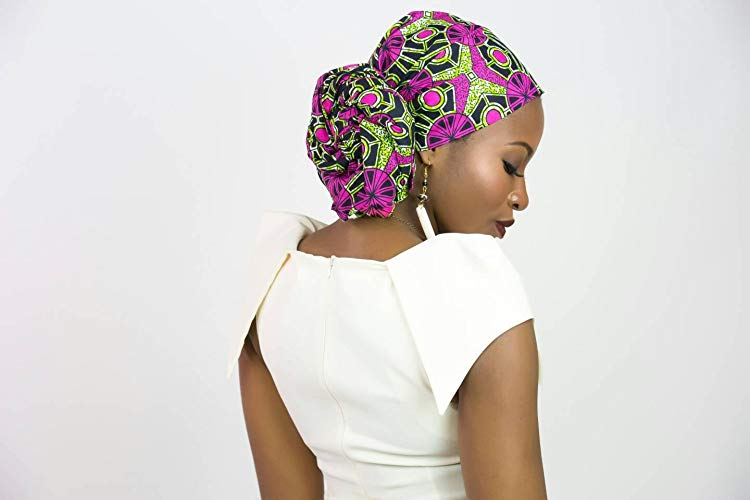 Did you know that African head wraps can be style in a plethora of ways? Yes! African print lover and deal seeker shows us where she shops for the best and most affordable ankara scarves. And some of them ship free! All your favorite styles in one place (+find out where to get them). Click to see all! #africanfashion #kente #turbanstyle