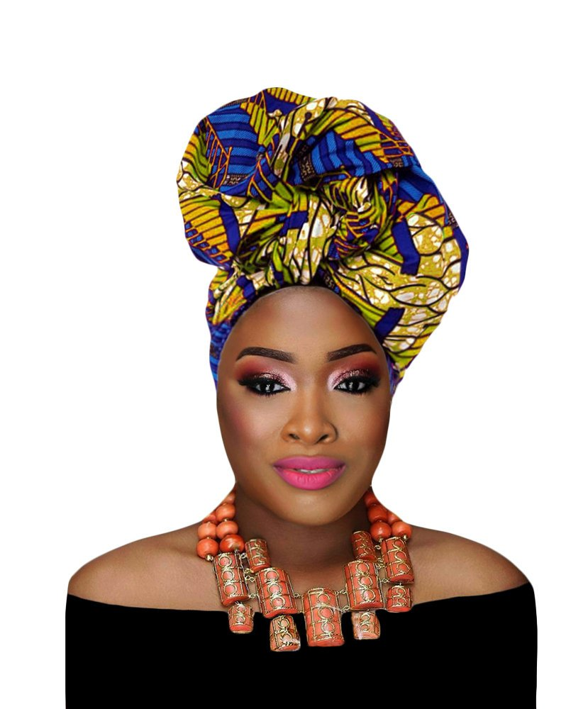 Look no further for the best selection of premium ankara head wraps made from 100% African print cotton. And you won't believe how affordable these are! All your favorite styles in one place (+find out where to get them). Click to see all! #africanfashionstyles #ankarastyles #headwraps