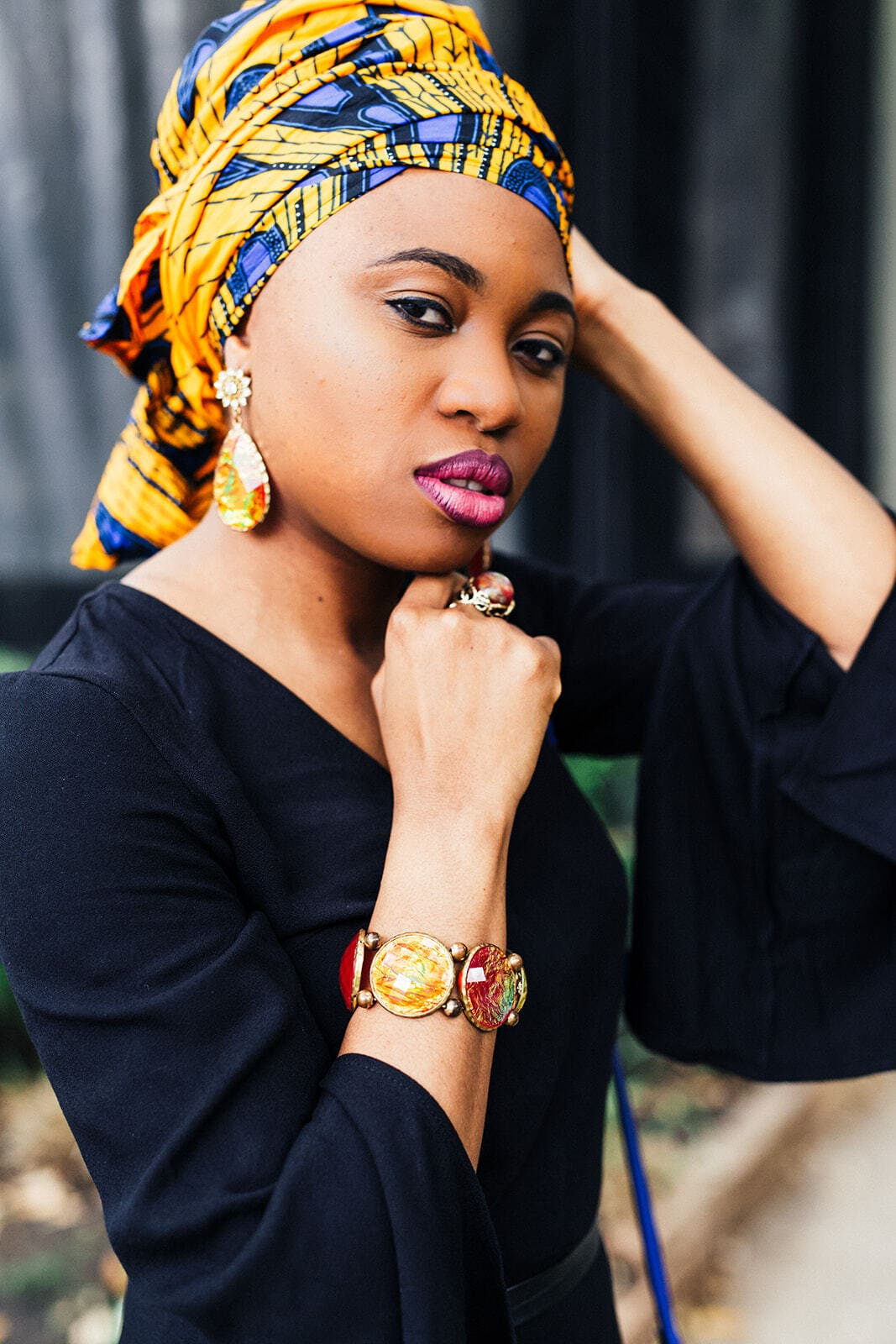Check out the best African head wraps in 2019 and where to get them. Among these ankara and kente headscarves, #5 is my absolute favorite! All your favorite styles in one place (+find out where to get them). Click to see all! #africantrends #kitenge #headwear