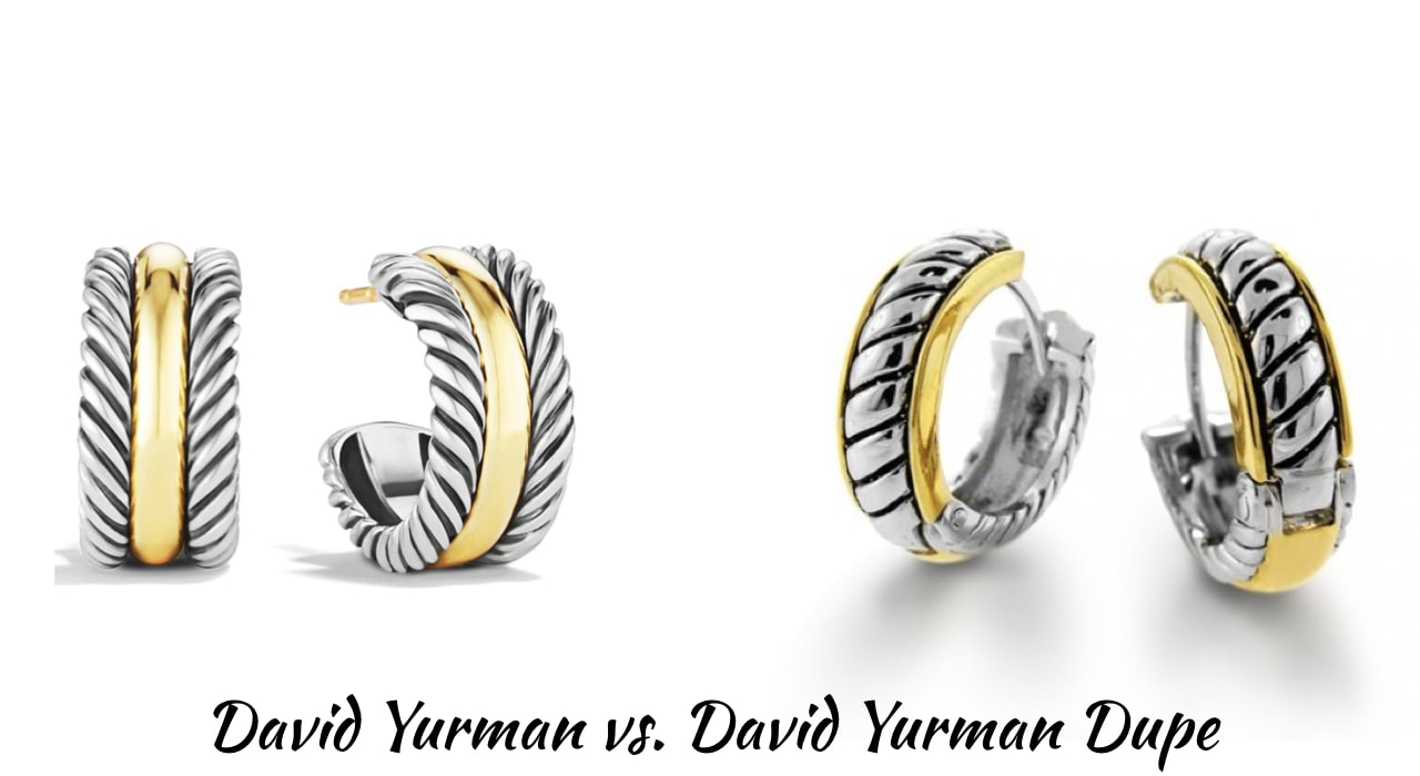 Looking for the best the best designer inspired cable bracelet? This designer dupe post will guide on where to get the best David Yurman look alike rings, bracelets, and necklaces for less! Includes the Cable Loop Hoop Earrings, Valentine Hearts Earrings and even more!
