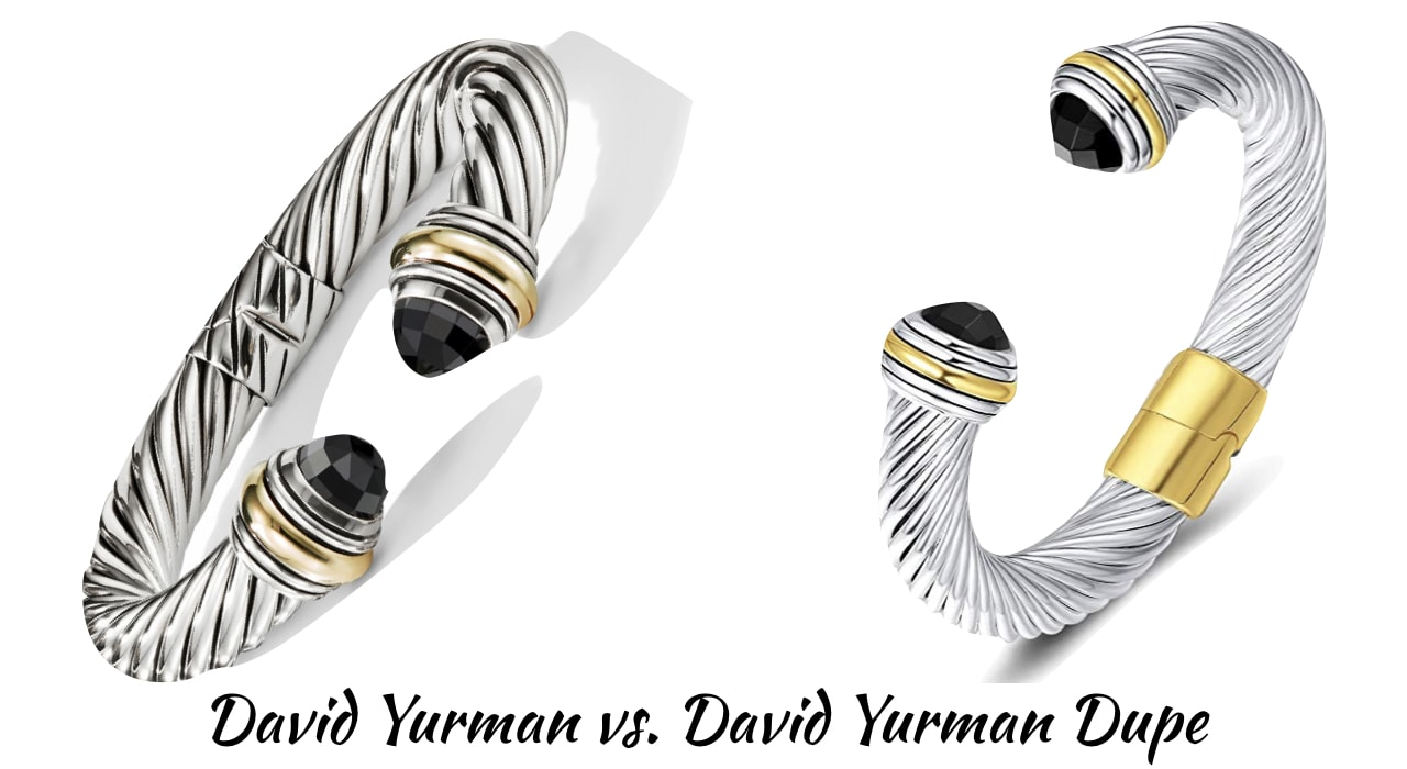 Looking for the best the best designer inspired cable bracelet? This designer dupe post will guide on where to get the best David Yurman look alike rings, bracelets, and necklaces for less! Includes the Cable Classics Bracelet, Oval Link Bracelet, X Bracelet and much more.