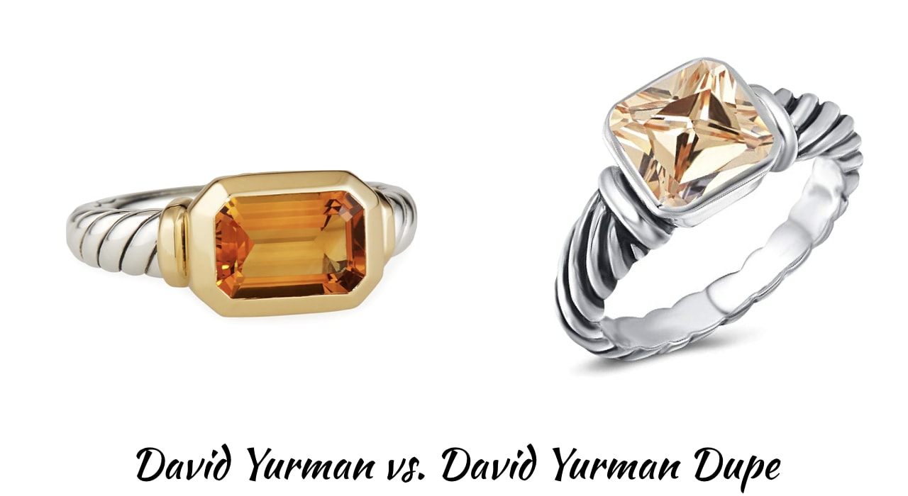 Looking for the best the best designer inspired cable bracelet? This designer dupe post will guide on where to get the best David Yurman look alike rings, bracelets, and necklaces for less! Includes the Novella Stone Ring, Crossover Wide Rings, Albion ring, 3-Row Ring and much more.