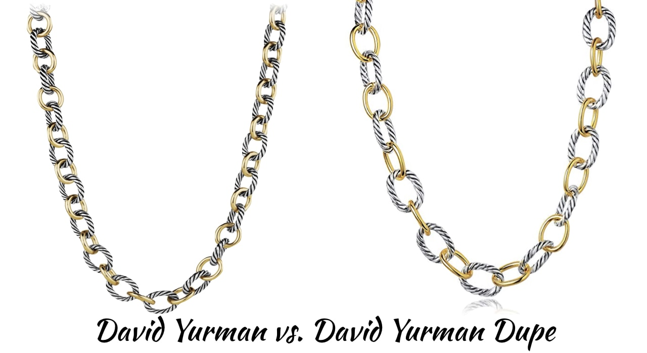 Looking for the best the best designer inspired cable bracelet? This designer dupe post will guide on where to get the best David Yurman look alike rings, bracelets, and necklaces for less! Includes the Oval Link Necklace, Chatelaine Heart Necklace and more.