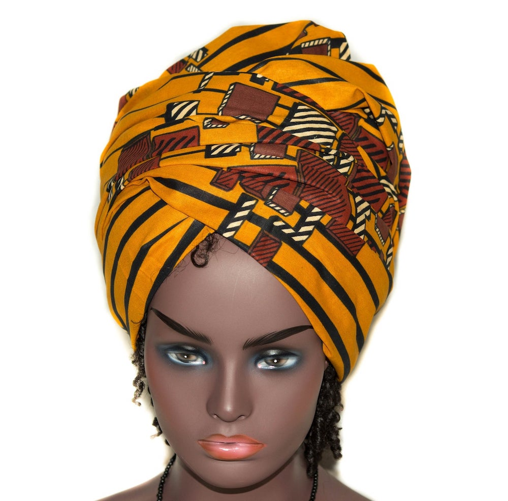 If you're obsessed with African print head wraps as much as I do, you'd love this list of the best and most affordable ankara wraps. All your favorite styles in one place (+find out where to get them). Click to see all! #africanfashionoutfits #ankarafashion #turbanstyle