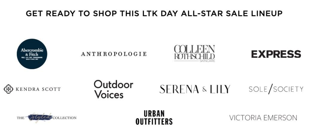 2019 LIKEtoKNOW.it LTK Day brands