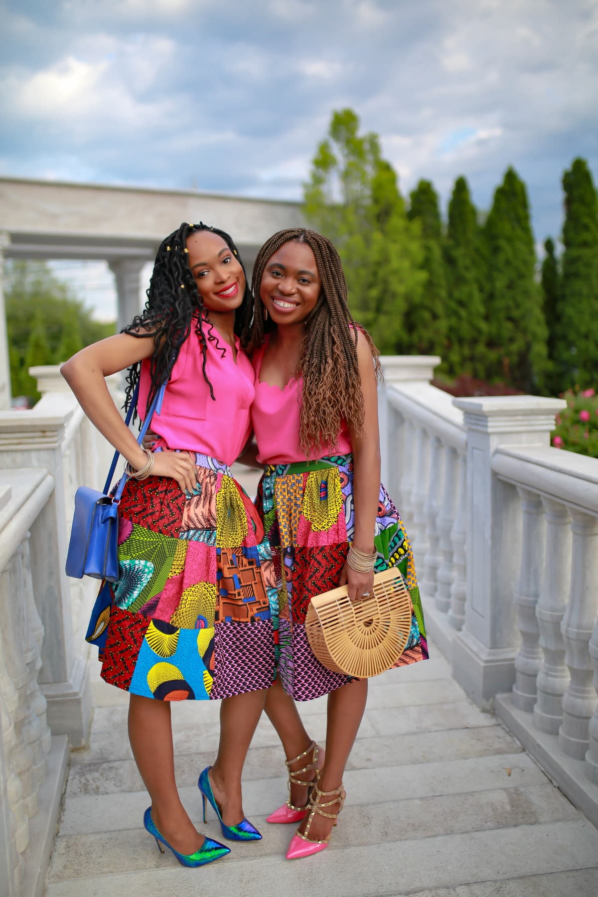 This is the only skirt you'll want to wear this year. This Amazon ankara skirt definitely has me excited for all the fun ways I can restyle this one ankara piece for work, school, church, wedding.. You name it!