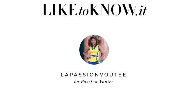 LIKEtoKNOW.it app La Passion Voutee