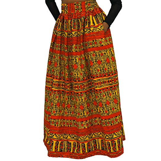 Long Maxi Skirt by The Urban Turbanista 18
